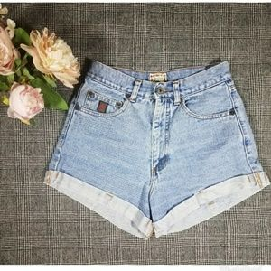 For Joseph High Waisted jean shorts sz 29